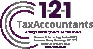 1-2-1 TaxAccountants Logo
